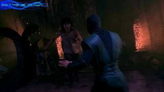 Liu Kang vs Reptile [1080p HD]