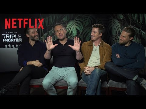 Behind The Action Of Triple Frontier | Netflix