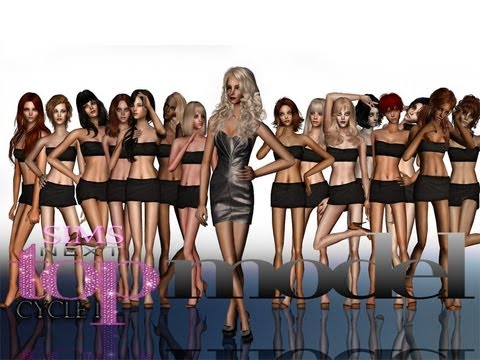 ○Sims next top model:Russia○1 cycle○[1 ep.[premiere]]
