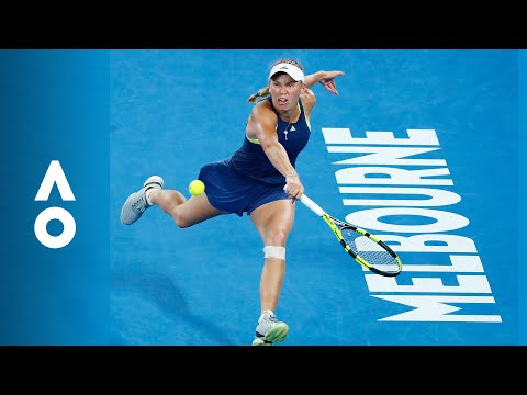 Match Point: Caroline Wozniacki v Simona Halep (F) | Australian Open 2018