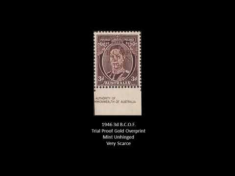Scarce To Very Rare Australian Stamps Part 1