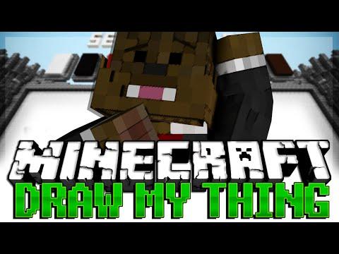 Minecraft Build It (Draw My Thing) Minigame