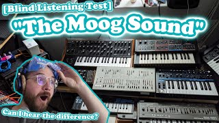 Is The Moog Sound real? // Blind Listening Test