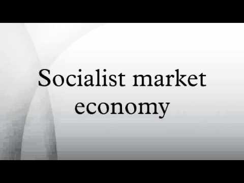 Socialist market economy