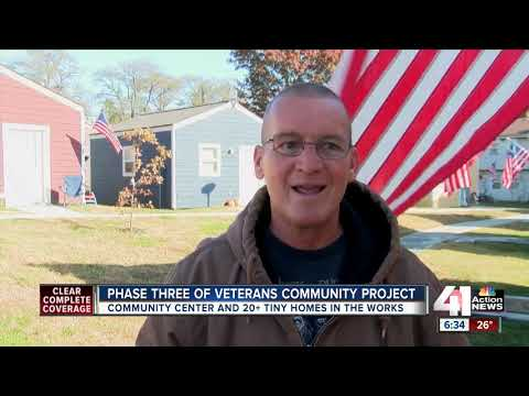 Wendy - Communities Rally And Build Tiny Home Villages For Homeless Veterans