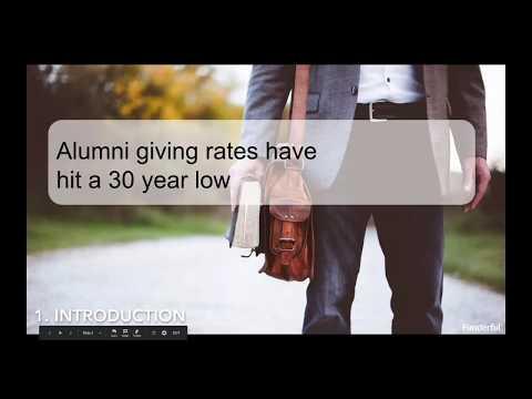Webinar: Young Alumni & Fundraising - Reaching a New Generation