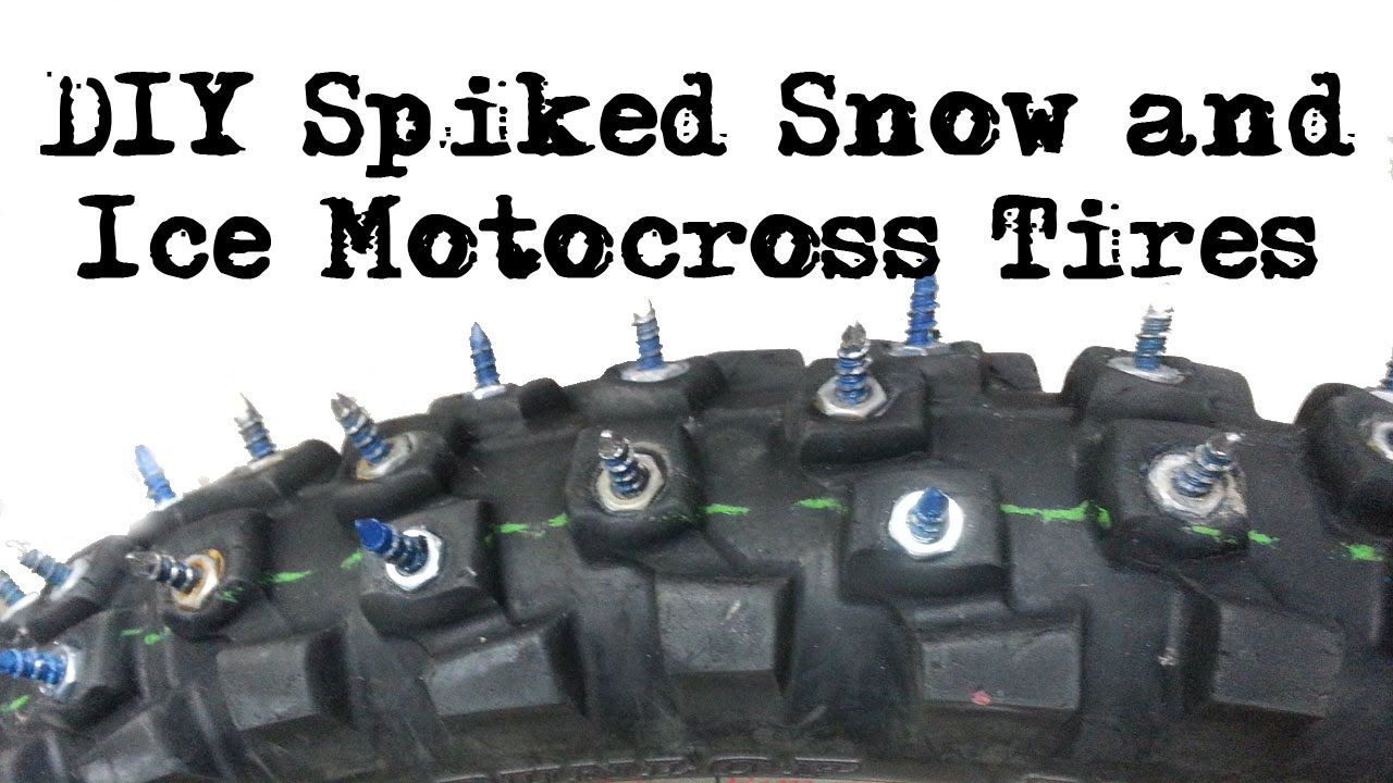 how to change a motocross tire
