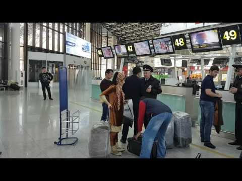 Бардак в аэропорту  Сочи