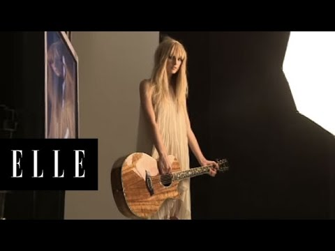 Taylor Swift | Behind the Scenes | ELLE