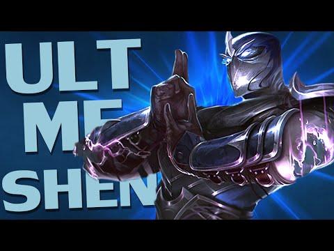 ♥ ULT ME SHEN - Ranked Struggles #1