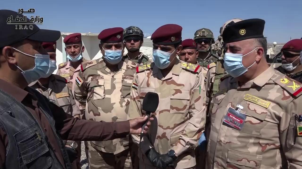 رئيس أركان الجيش يتفقد قيادة عمليات صلاح الدين