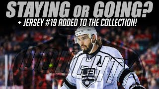 Doughty Staying or Going? + Jersey #19 Added to the Collection!