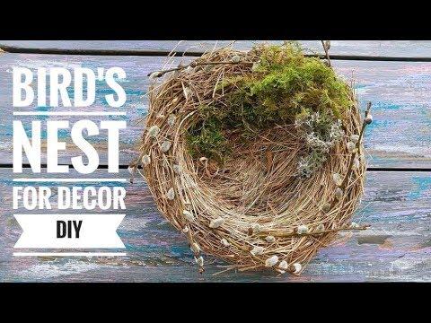 Bird's Nest DIY for Easter decor ❀