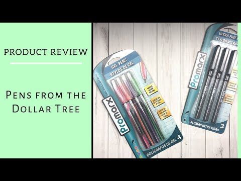 PRODUCT REVIEW | PROMARX PENS | DOLLAR TREE FIND