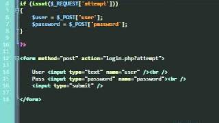 PHP Simple Login Script (Procedural)