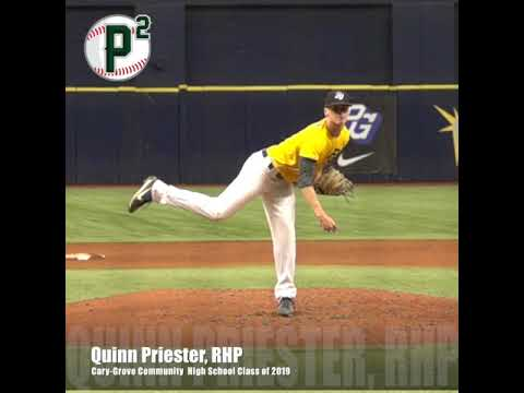 Quinn Priester, RHP, Cary Grove Community High School Class of 2019, Pitching  Mechanics at 240 FPS