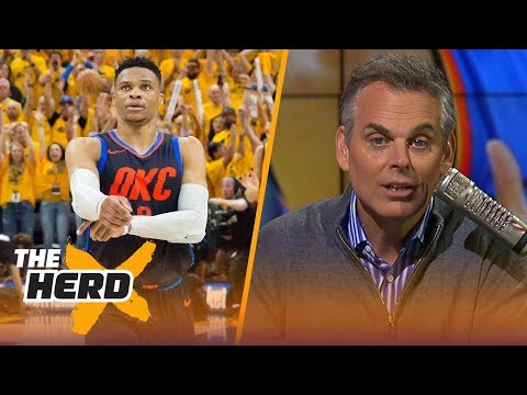 Colin on reports that people in the NBA think OKC should consider trading Westbrook | NBA | THE HERD