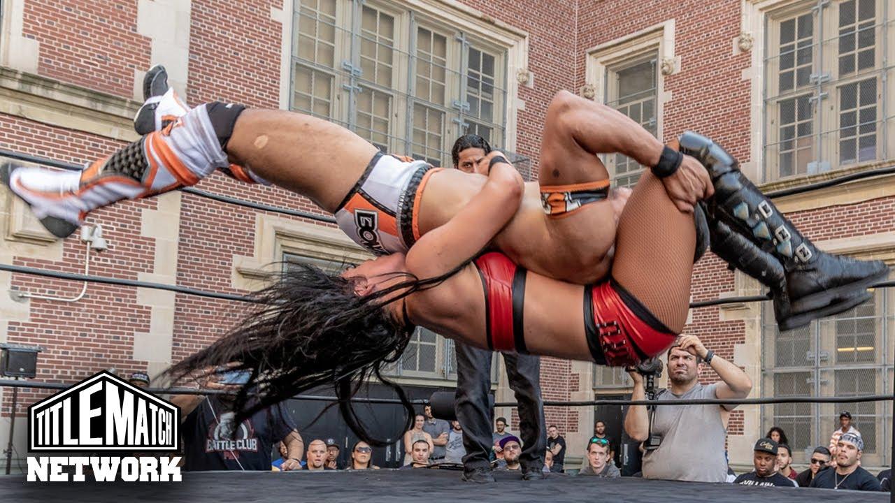 Tessa Blanchard vs Anthony Bowens (Intergender Wrestling) iPPV Version