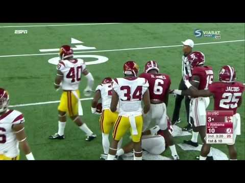 2016 Advocare Classic - #20 USC vs. #1 Alabama Highlights