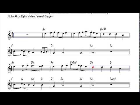 Nota Akor Eşlik - Nefes ( Zahid Bizi Tan Eyleme ) - C Instruments