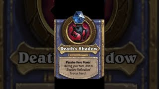 Hearthstone trolling Tavern Brawl : shadow reflection