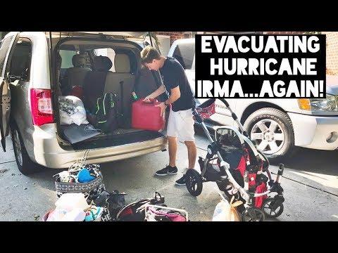 WE HAD TO EVACUATE... again! HURRICANE IRMA