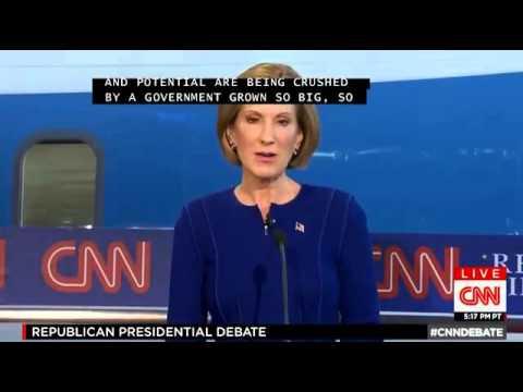 Republican Debate 2015 - CNN Republican Primary Debate for 2016 Full