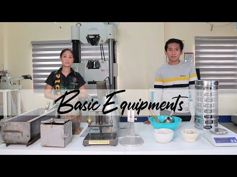 01-  Basic Equipment In Material Testing
