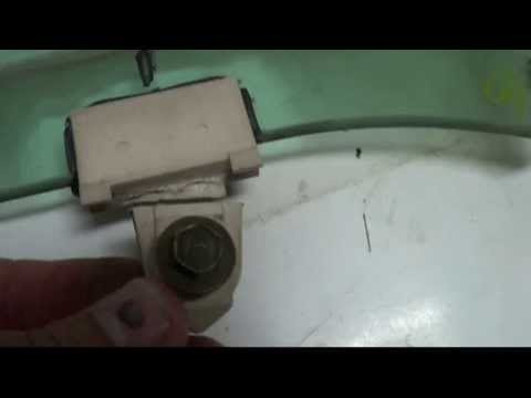 Car Window Attachment Clip Replacement Sash Youtube