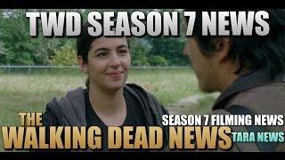 The Walking Dead Season 7 News Tara & Heath Information Walking Dead Season 7 News