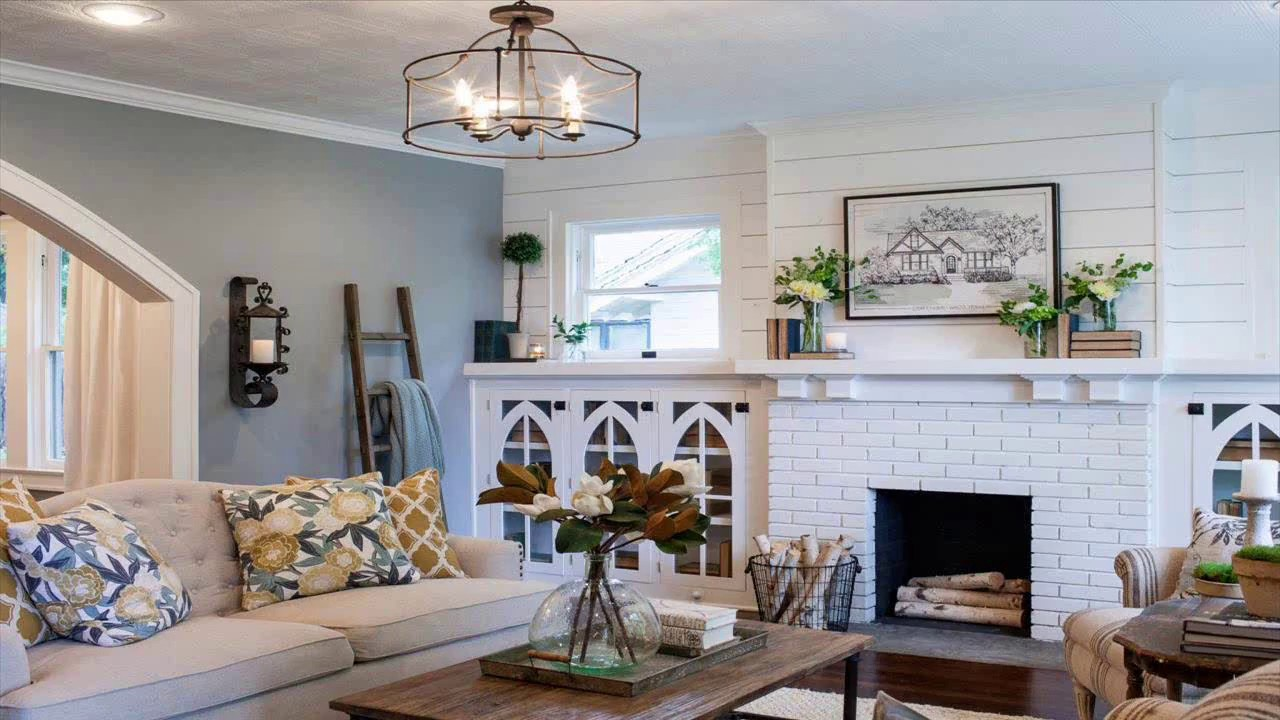 How To Arrange Living Room Furniture With Corner Fireplace Toy Storage In Ideas Joanna Gaines Bedroom Designs - Youtube