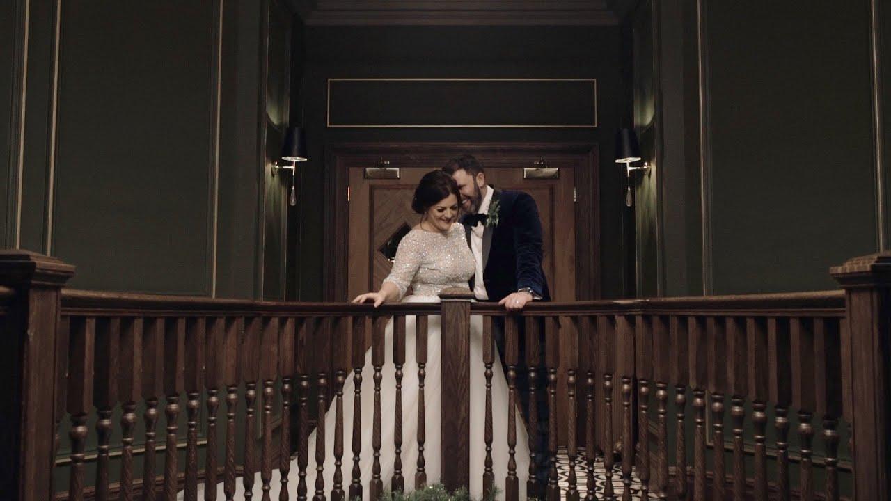 Mike + Kathryn | Torrential Rain And Happy Tears | Boclair House Wedding Film