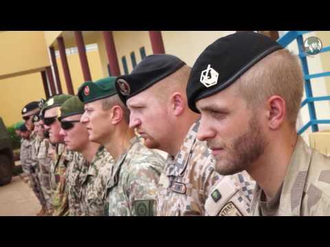 Belgian Brigadier General Eric Harvent takes the lead of EUTM European Training Mission in Mali