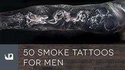 50 Smoke Tattoos For Men