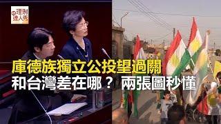 庫德族獨立公投望過關 和台灣差在哪?2張圖秒懂《全球新視野》2017.09.27
