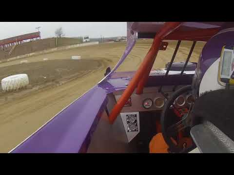 Darin Horton Crate Late Model Practice Day In-Car Footage