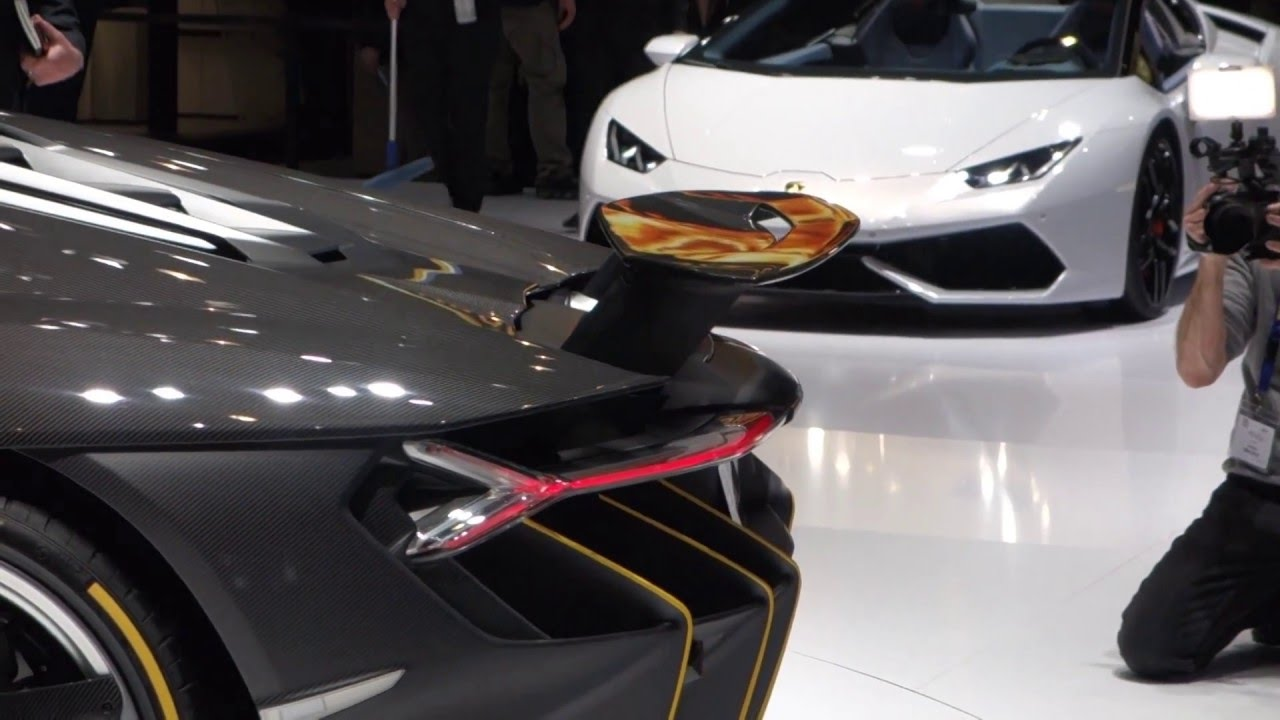 Lamborghini Centenario Rear Wing Operation Youtube