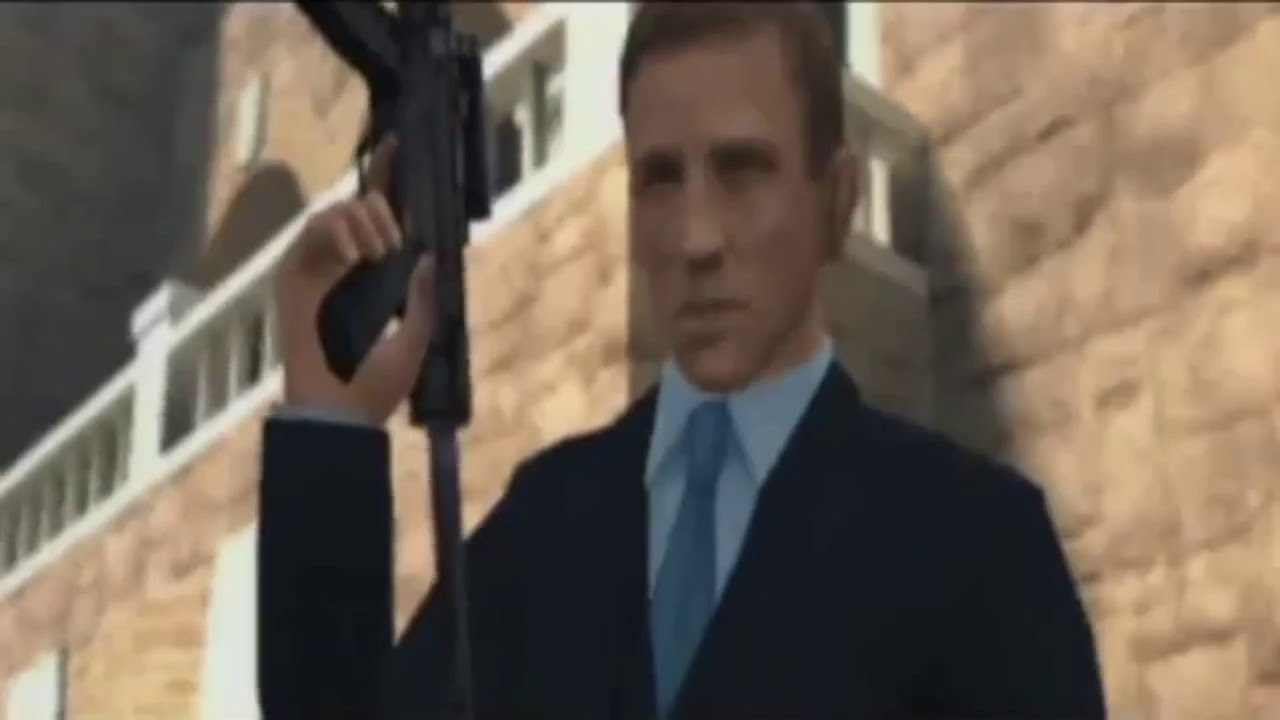 007 Quantum Of Solace Ps2 Hd Trailer Youtube
