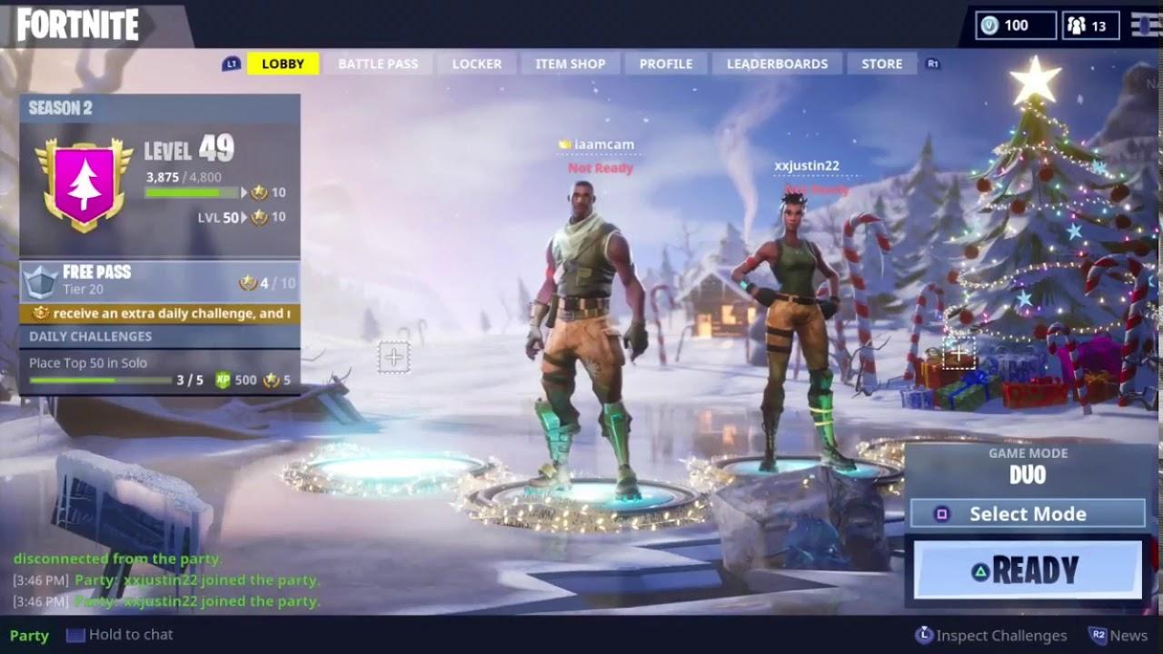 Fortnite Season 2 Lobby Screen Background Music