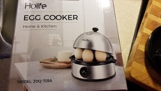 How to use the Holife Egg Cooker