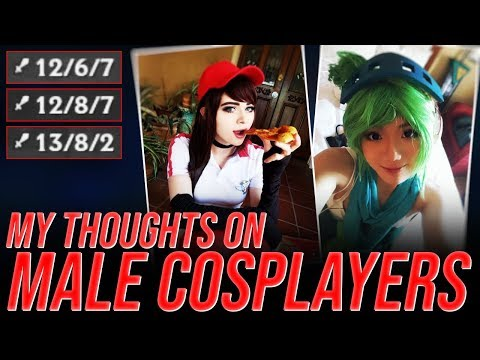 LL Stylish - MY THOUGHTS ON MALE COSPLAYERS - UNRANKED TO CHALLENGER