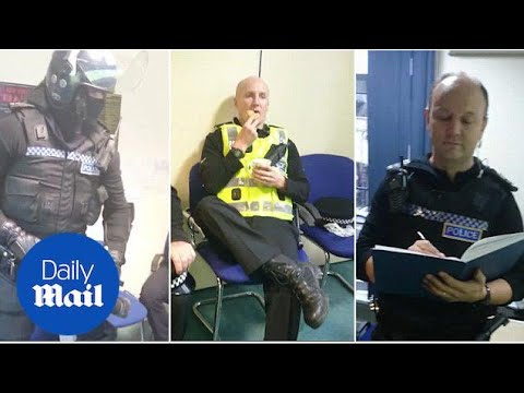 Police Scotland Ridiculed After Posting Mannequin Challenge Video - Daily Mail