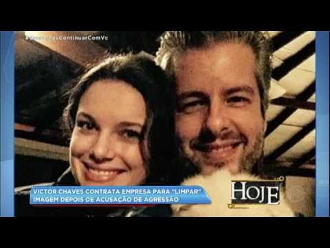"""Hora da Venenosa: Victor Chavez contrata empresa para """"limpar"""" sua imagem"""