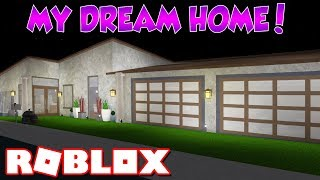 Touring My DREAM House in Bloxburg! *NEW SERIES?* (Roblox)