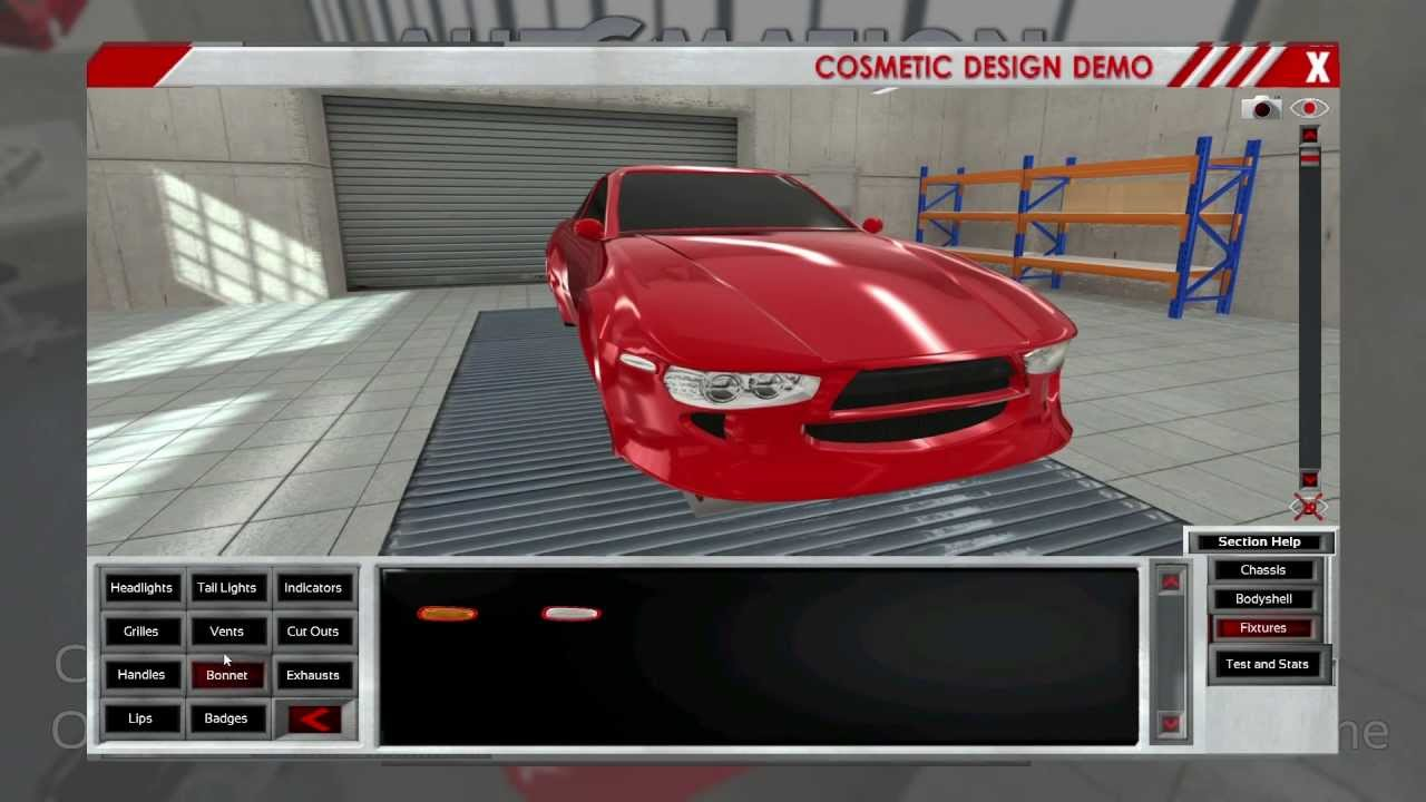 Car Design Game >> Automation Game Build 1102 Auto Body Designer Sports Car