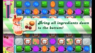Candy Crush Saga Level 593 walkthrough (no boosters)