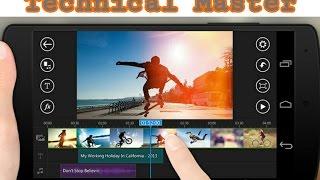Android video editing software।। অ্যান্ড্রয়েড ভিডিও এডিটিং সফটওয়্যার.