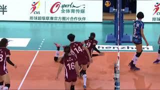 2017-2018 China Volleyball League 6th Round YUAN Xinyue Highlights