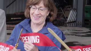 Front Street Shipyard: Ribbon Cutting for Building 6
