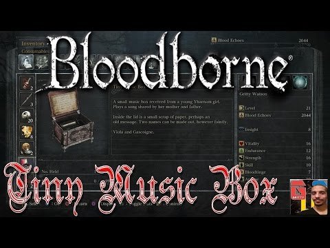 Bloodborne PS4 HD - HOW TO GET THE TINY MUSIC BOX